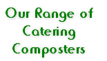 Our Range of  Catering  Composters